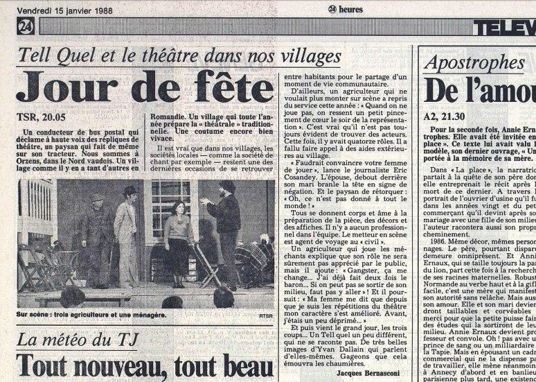 24heures 15-janv-1988 Tell Quel Orzens