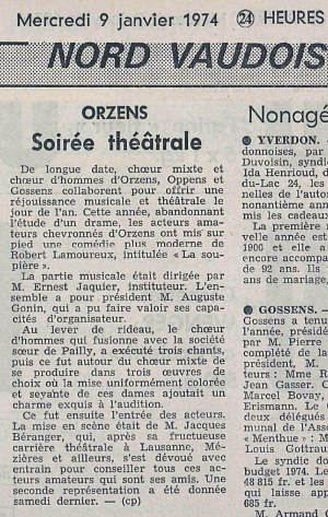 24heures 9-janv-1974 LA SOUPIERE ORZENS