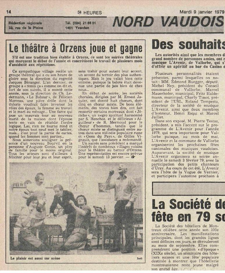24heures 9-janv-1979 LE BABOUR ORZENS