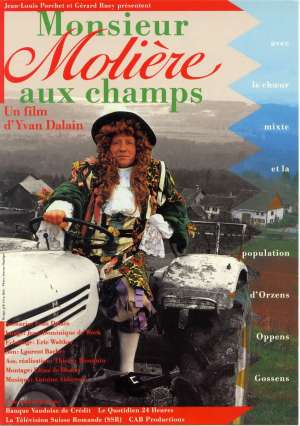 affiche film MONSIEUR MOLIERE AUX CHAMPS 1989