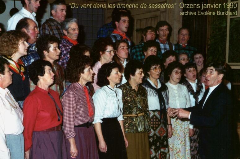 Du vent dans les branches de sassafras. 1990, le cœur dirigé par Ernest Jaquier