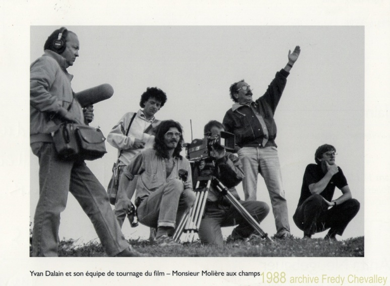 Tournage du film