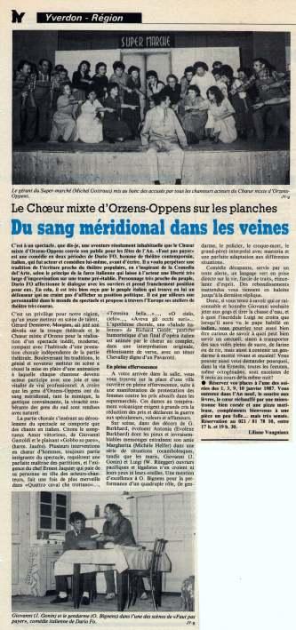 Journal d-Yveron 27-dec-1986 Faut pas payer Orzens