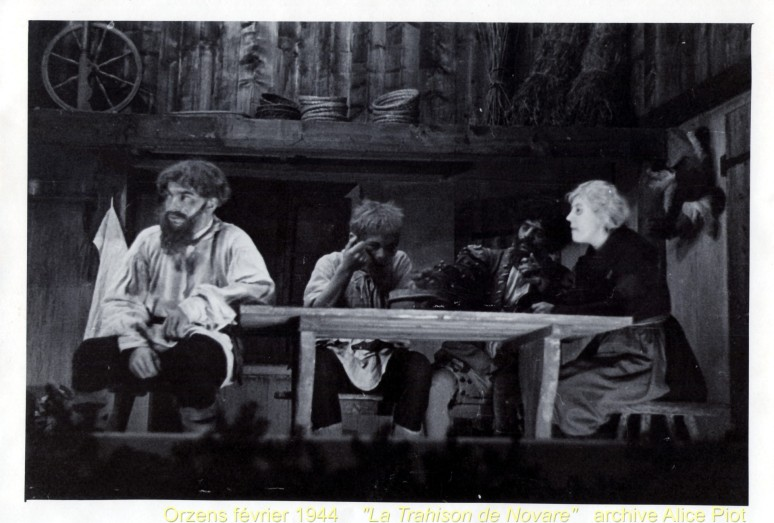 « La Trahison de Novare » 1944. ..., René Piot, ..., ...