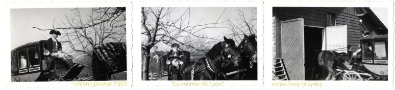 Le courrier de Lyon 1953 Orzens 01