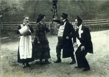 « La tante Lochard » février 1929