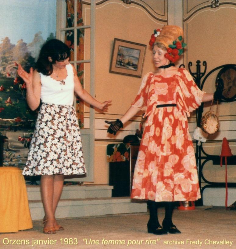 Une femme pour rire 1983 Orzens  01