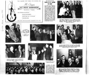 yverdon revue 1954 la Cagnotte de Labiche Orzens
