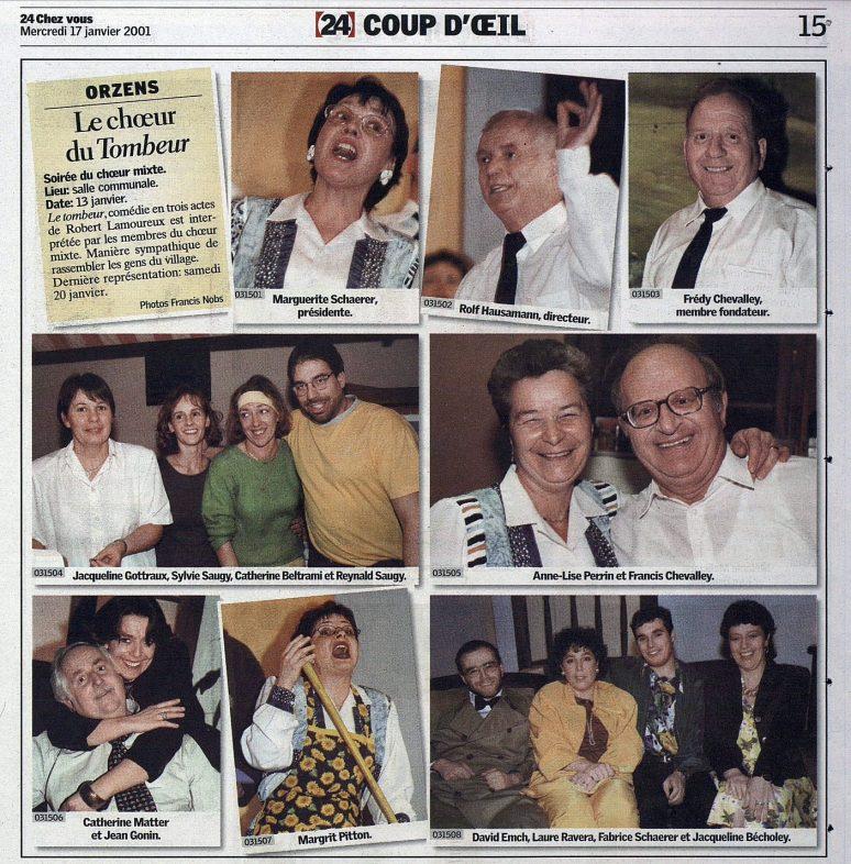 24heures 17 janvier 2001 LE TOMBEUR Orzens