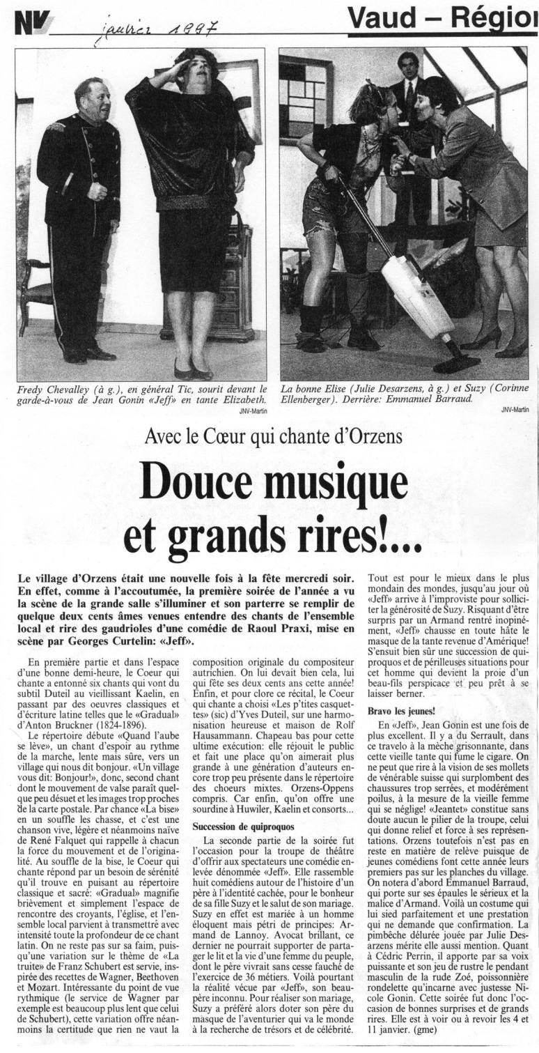 journal du Nord vaudois jeff Orzens janvier 1997