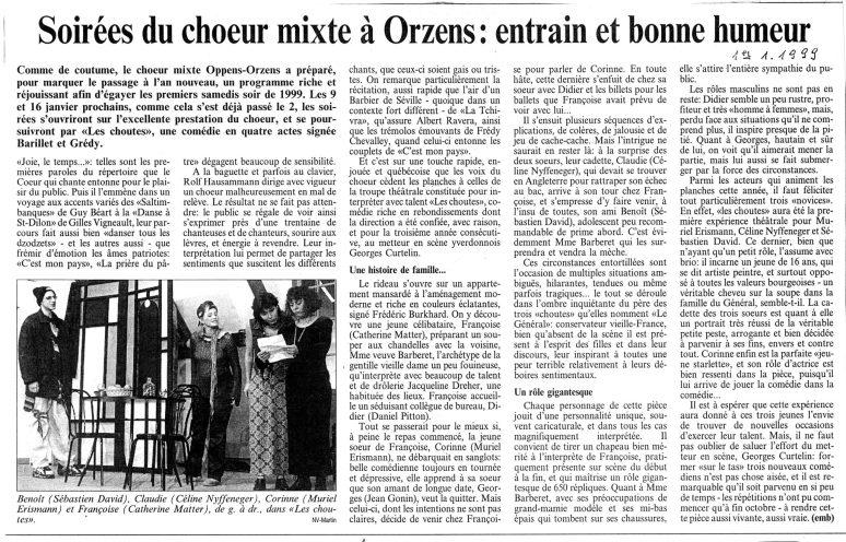 LA-PRESSE-NV 1-janvier-1999 LES CHOUTES Orzens001