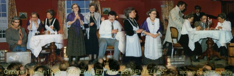 ARSENIC ET VIEILLES DENTELLES 1988 Orzens 001