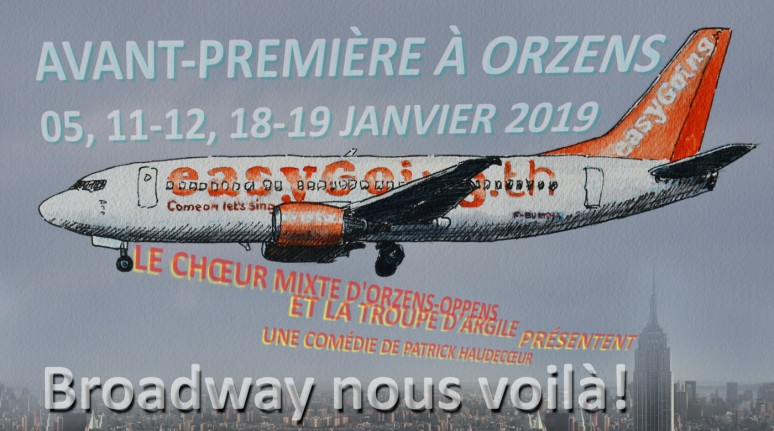 BROADWAY NOUS VOILA come-on-lets-sing ORZENS janvier 2019
