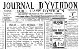 Journal d Yverdon 01-02-1924 ORZENS Sami et le greffier a l exposition de Milan