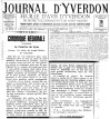 Journal d Yverdon 15 mars 1935 LE COURRIER DE LYON