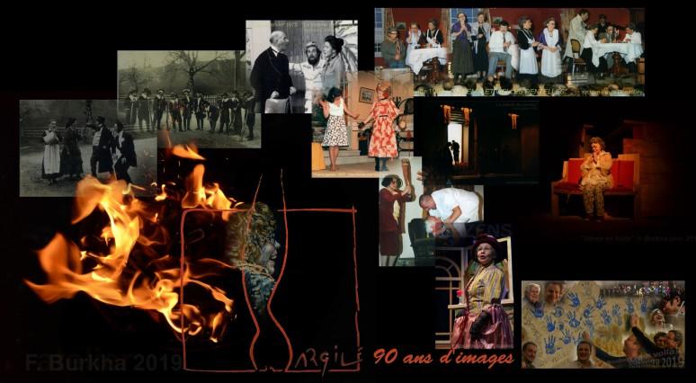 ARGILE troupe d Orzens 90 ans d image