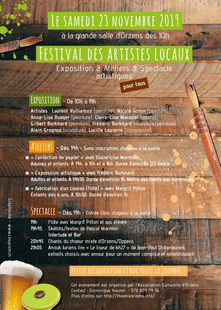 ORZENS festival-des-artistes novembre 2019