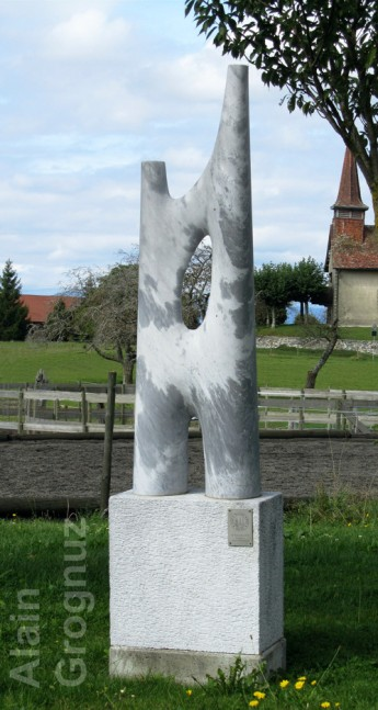 sculpture alain grognuz